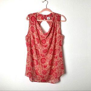 CAbi Vita #5037 Spring 2016 cowl neck top pink red